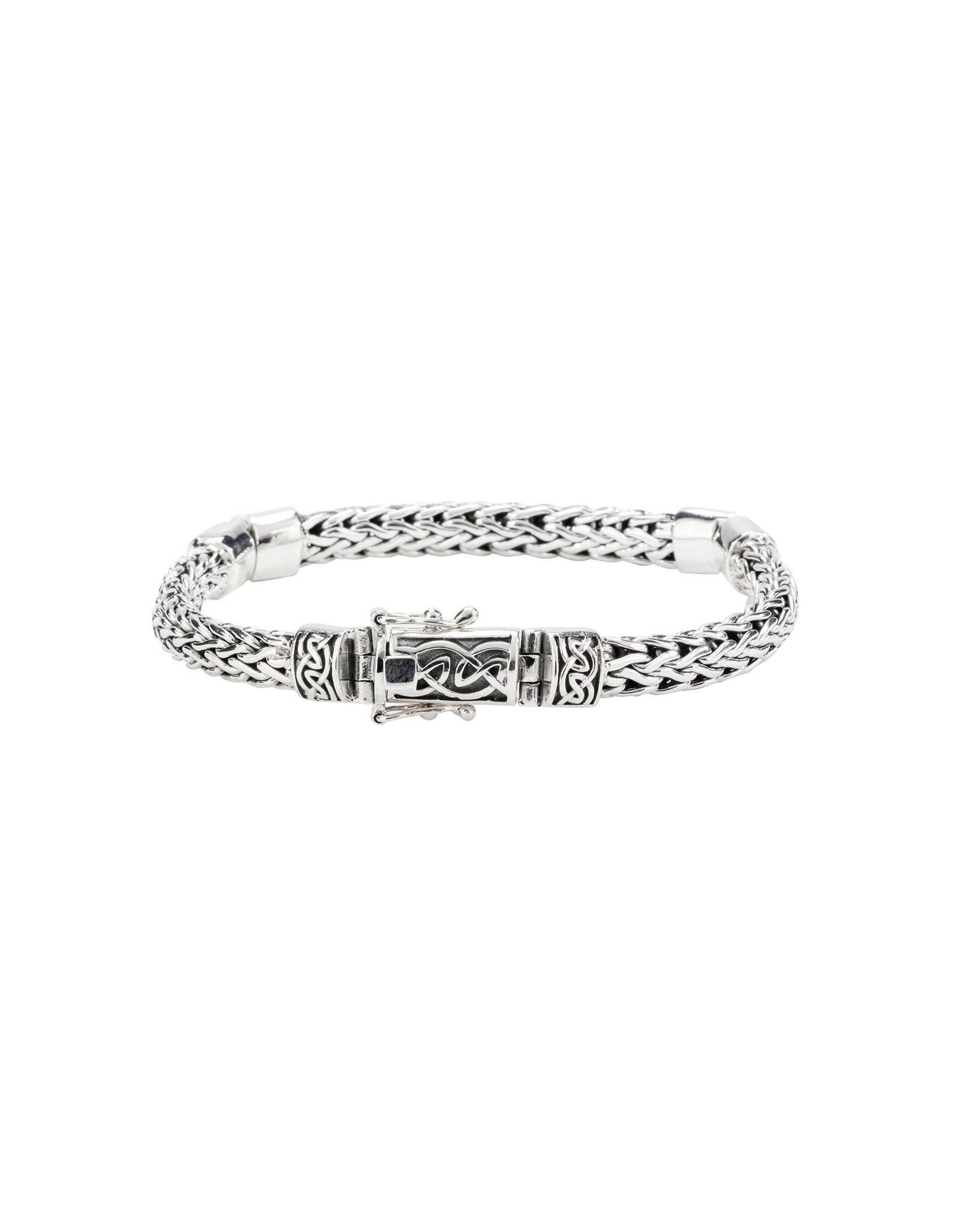 Keith Jack Dragon Weave Bracelet SS