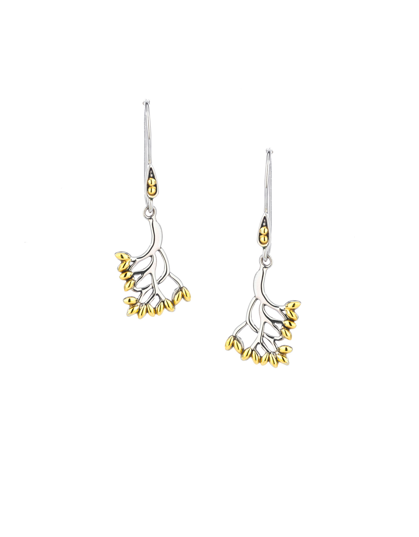 Keith Jack Tree of Life Earrings (Small) SS/18KY