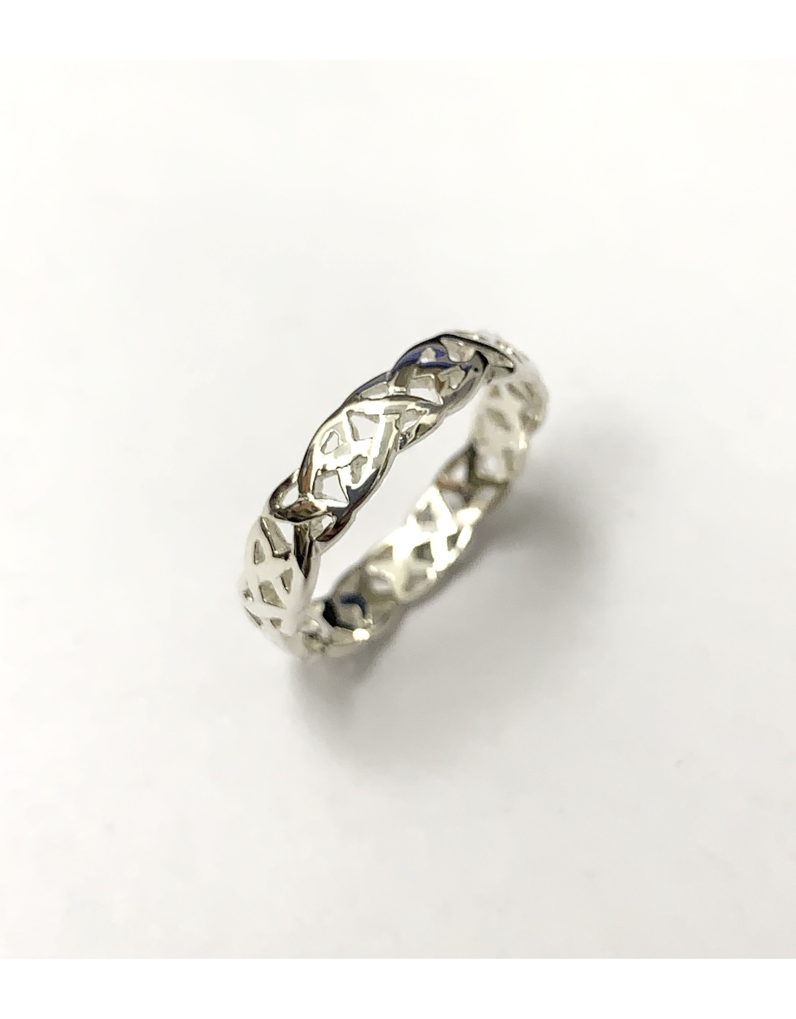 Keith Jack Love Knot Ring SS
