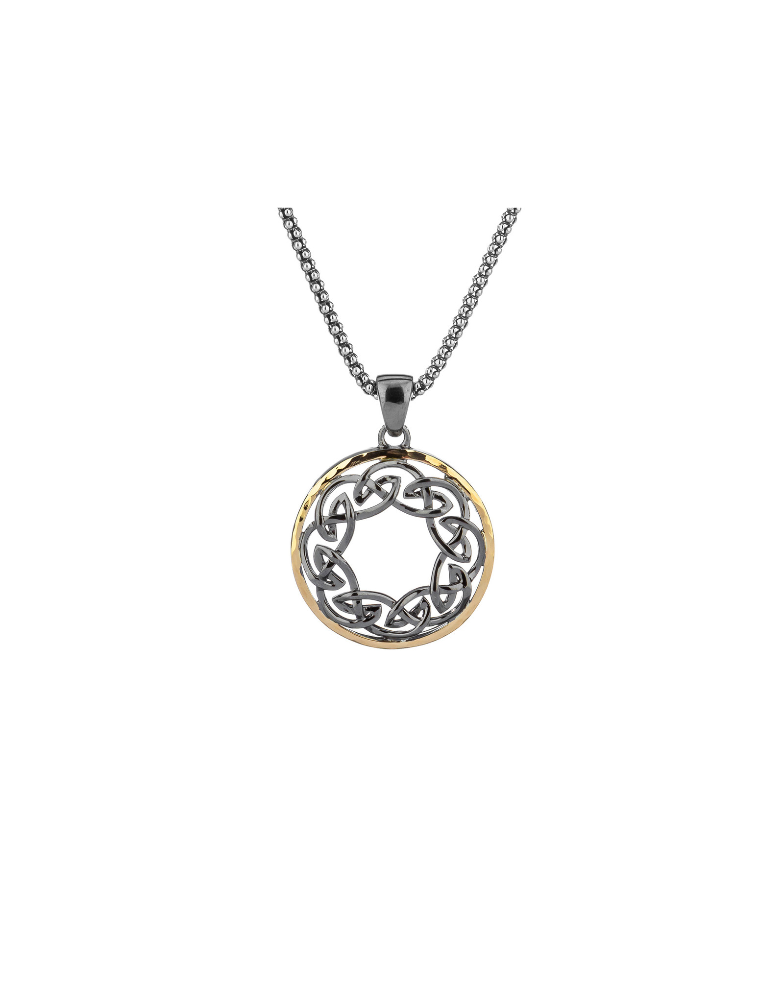 Keith Jack Path of Life Eternity Pendant SS/10KY