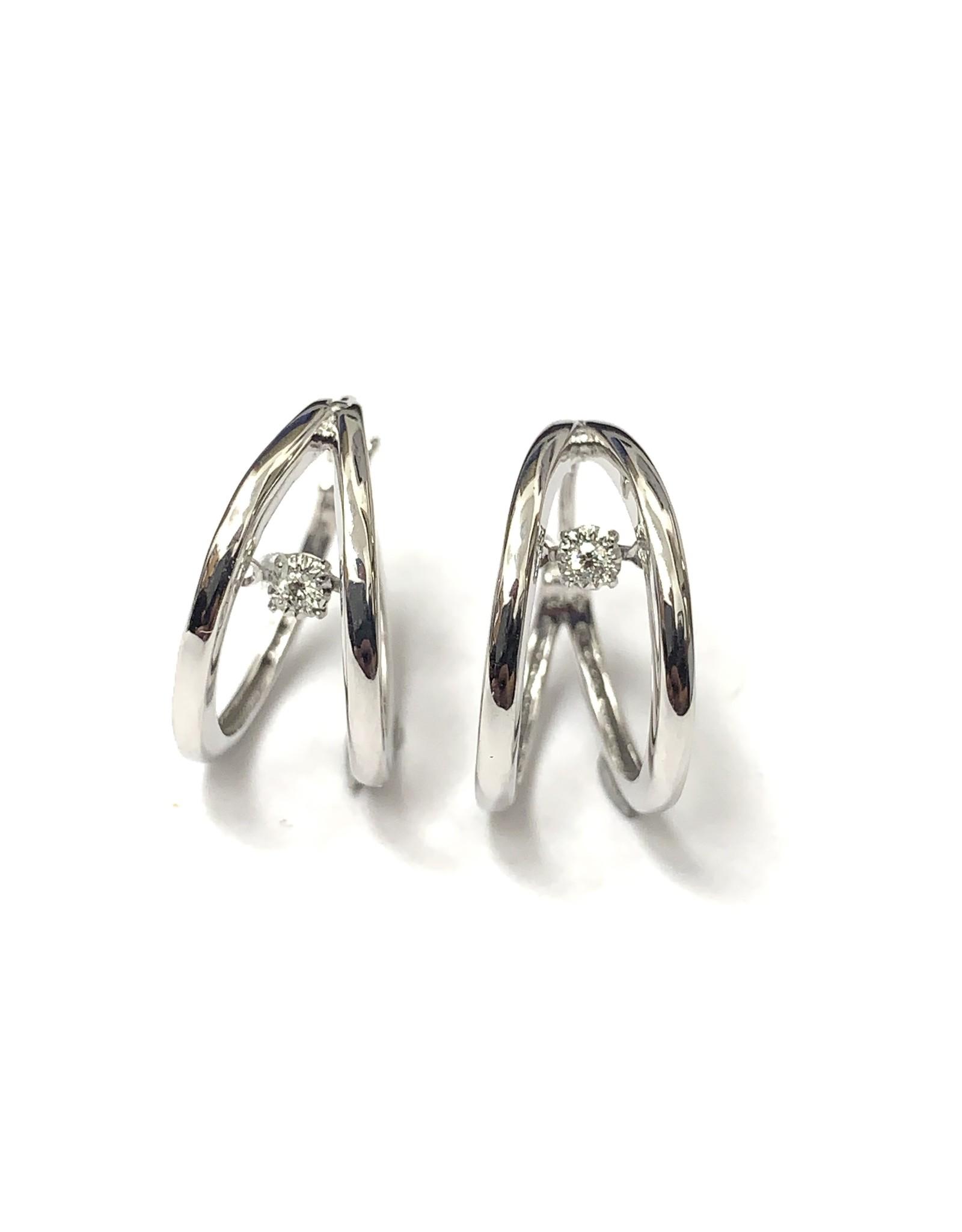 Dancing Diamond Earrings 10KW