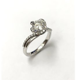 1.01 Canadian Diamond Engagement Ring