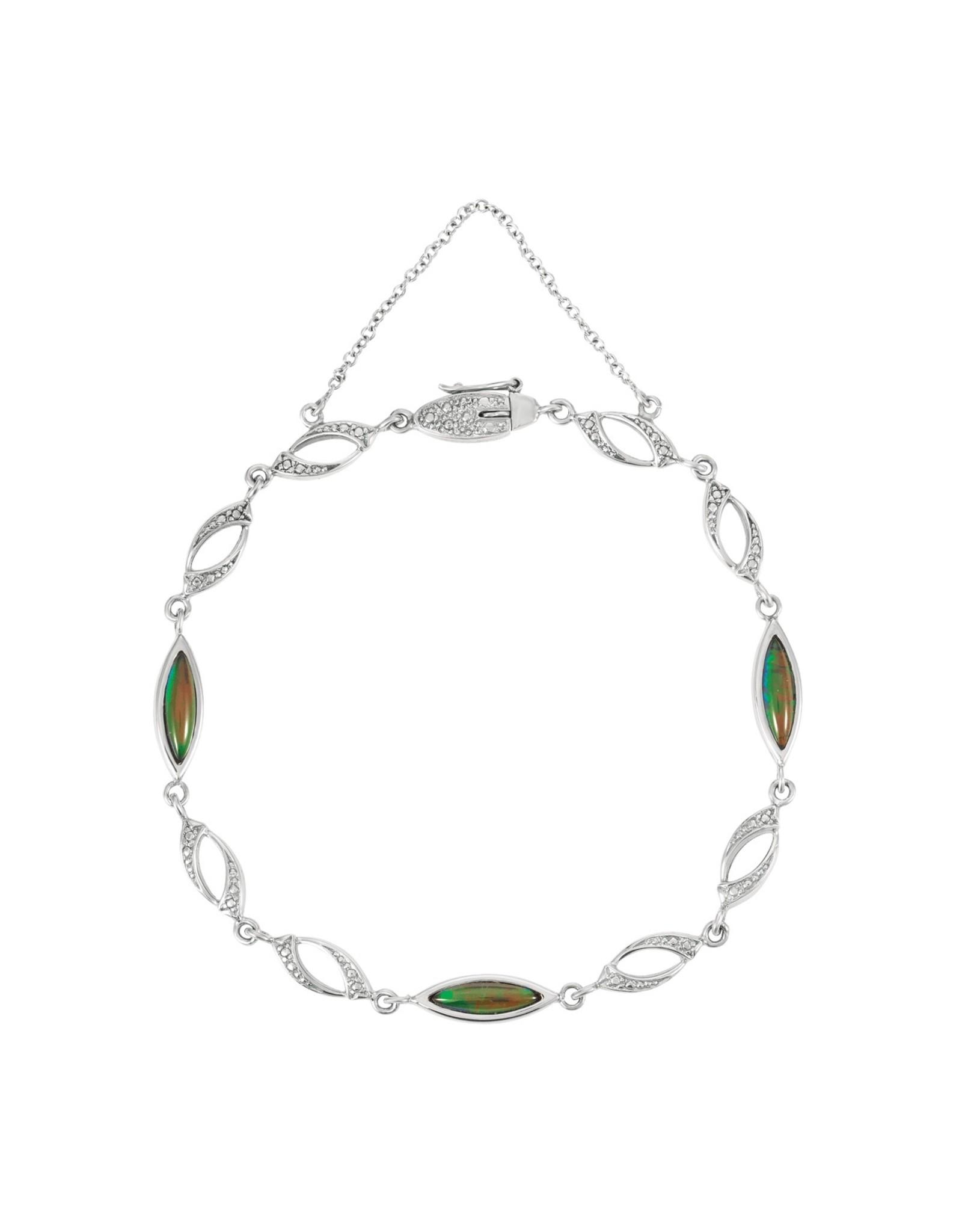 Korite Madeleine Ammolite Bracelet SS