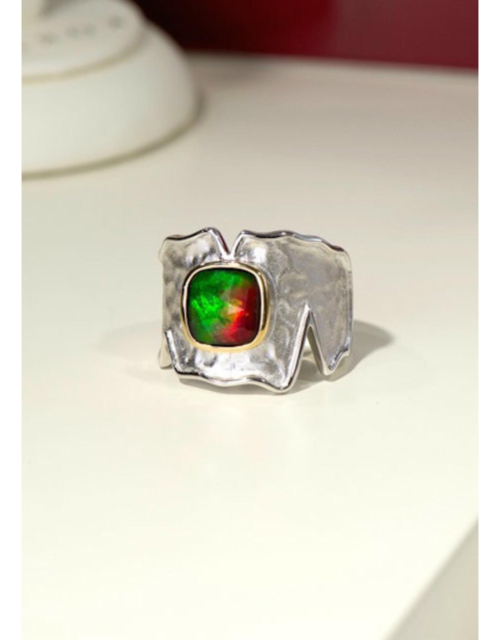 Korite Taylor Ammolite Ring SS