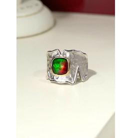Korite Taylor Ammolite Ring
