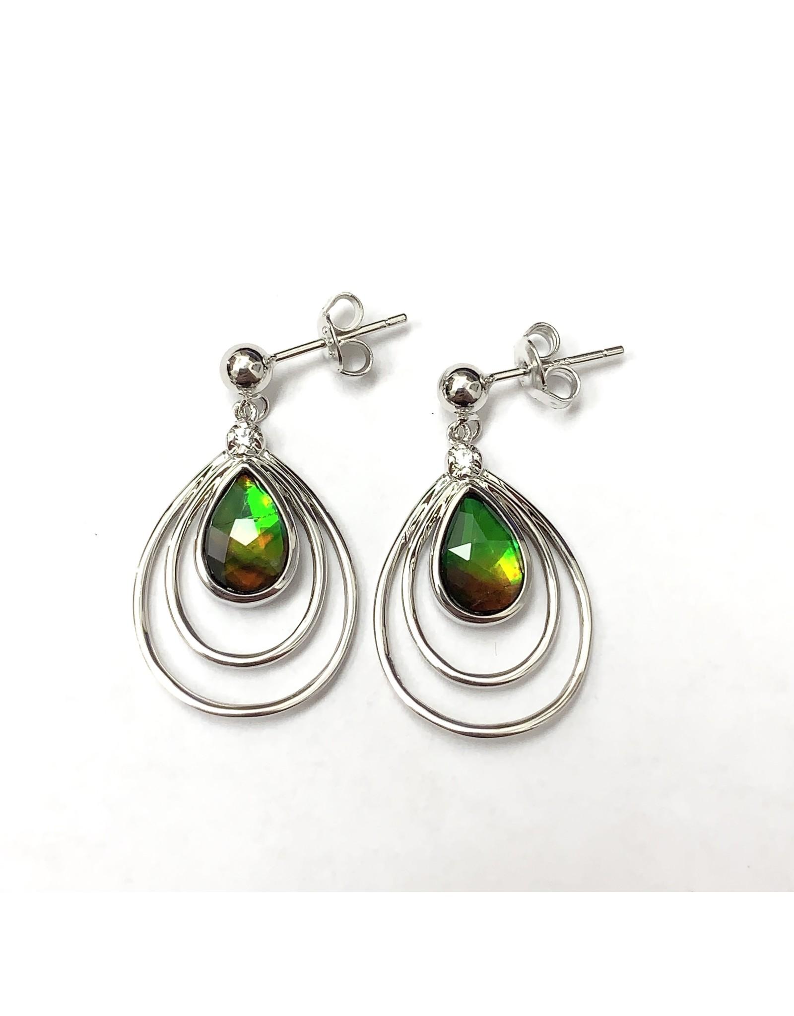 Korite Abigail Ammolite Earrings SS