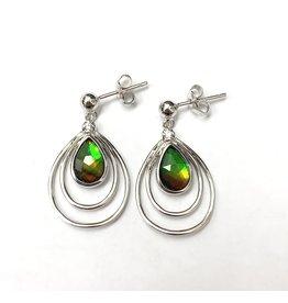 Korite Abigail Ammolite Earrings