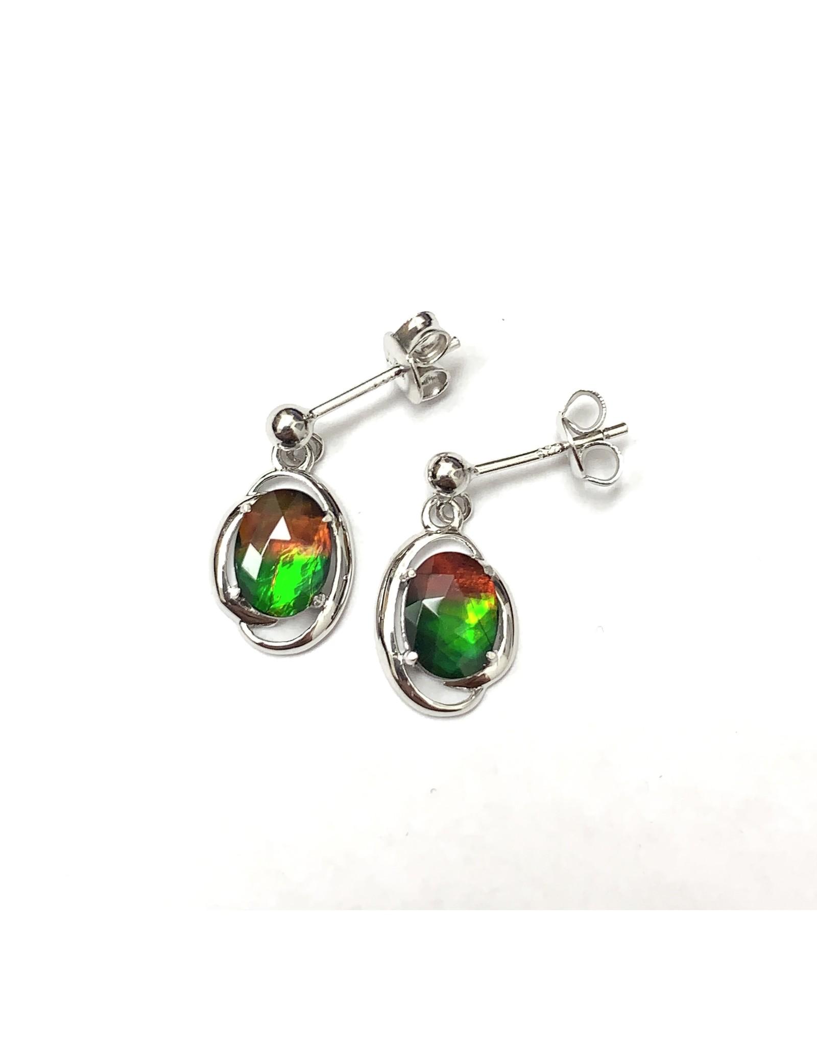 Korite Rosalind Ammolite Earrings SS