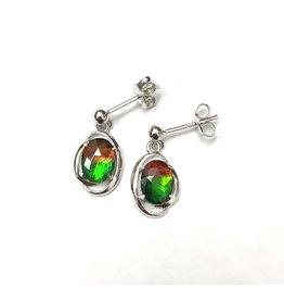 Korite Rosalind Ammolite Earrings