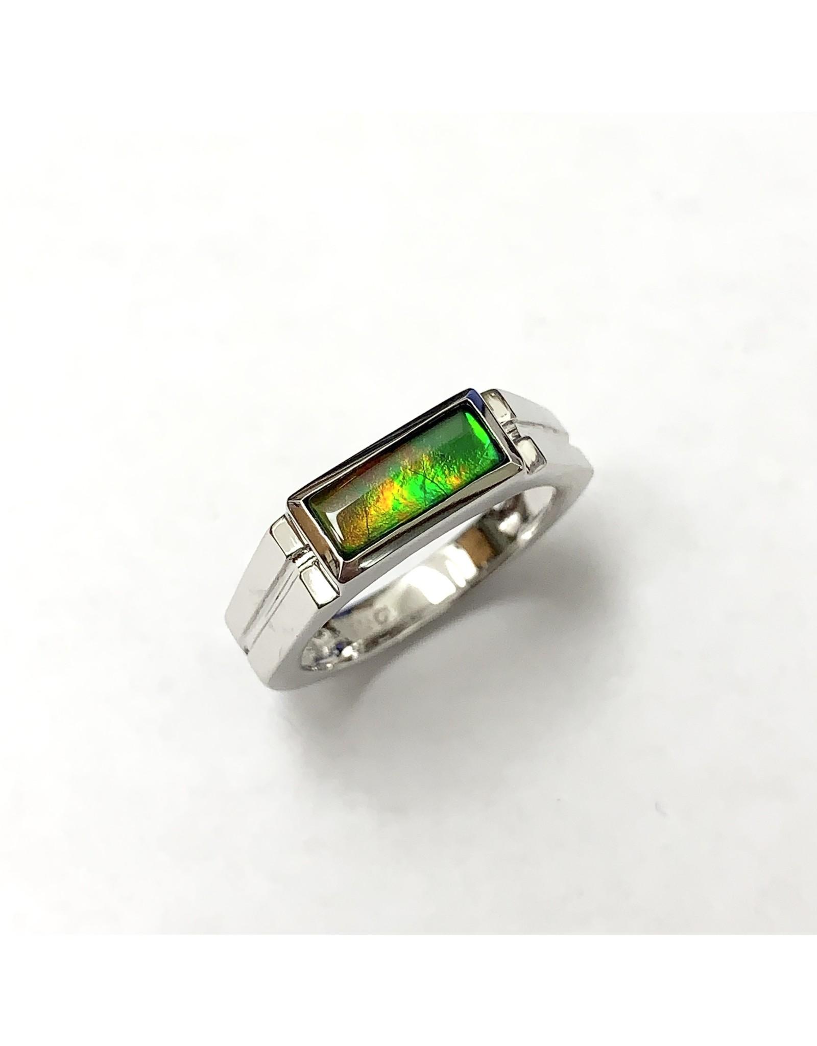 Korite Blair Ammolite Ring SS