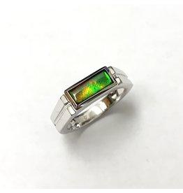 Korite Blair Ammolite Ring