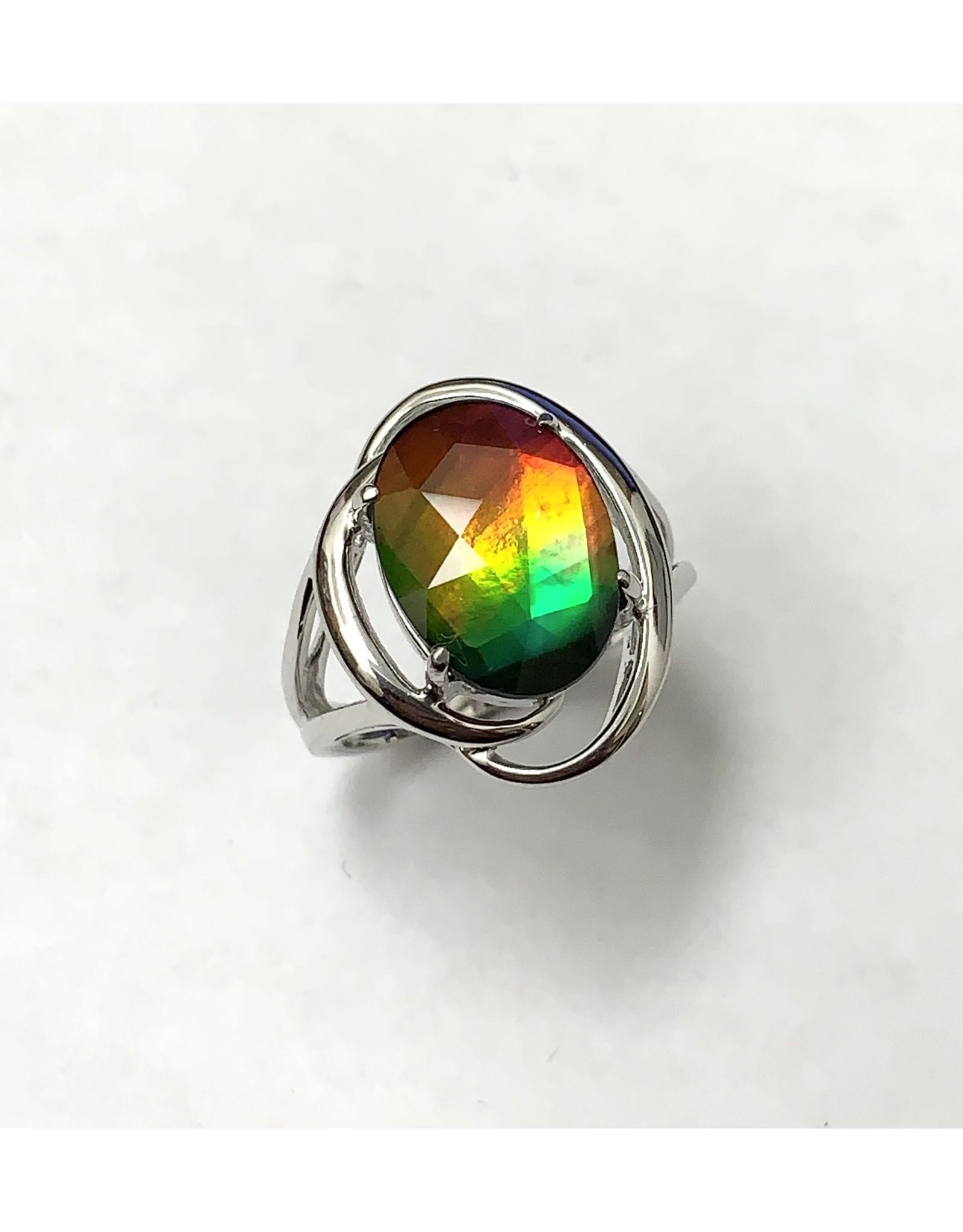 Korite Rosalind Ammolite Ring SS