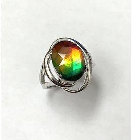 Korite Rosalind Ammolite Ring