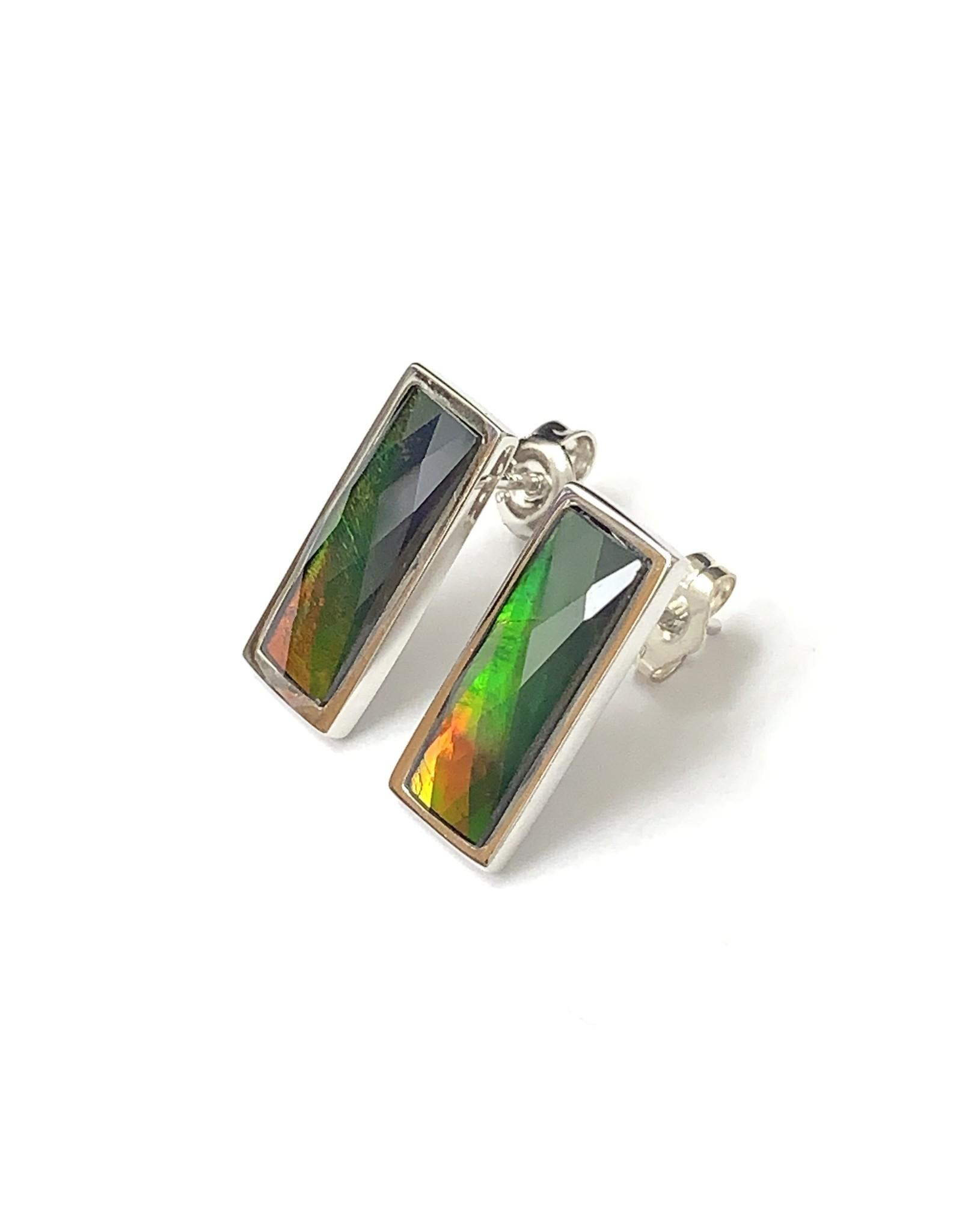 Korite Neda Ammolite Earrings SS