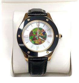 Korite 43mm Ammolite Watch