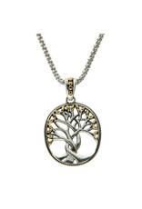 Keith Jack Tree of Life Pendant SS/18KY