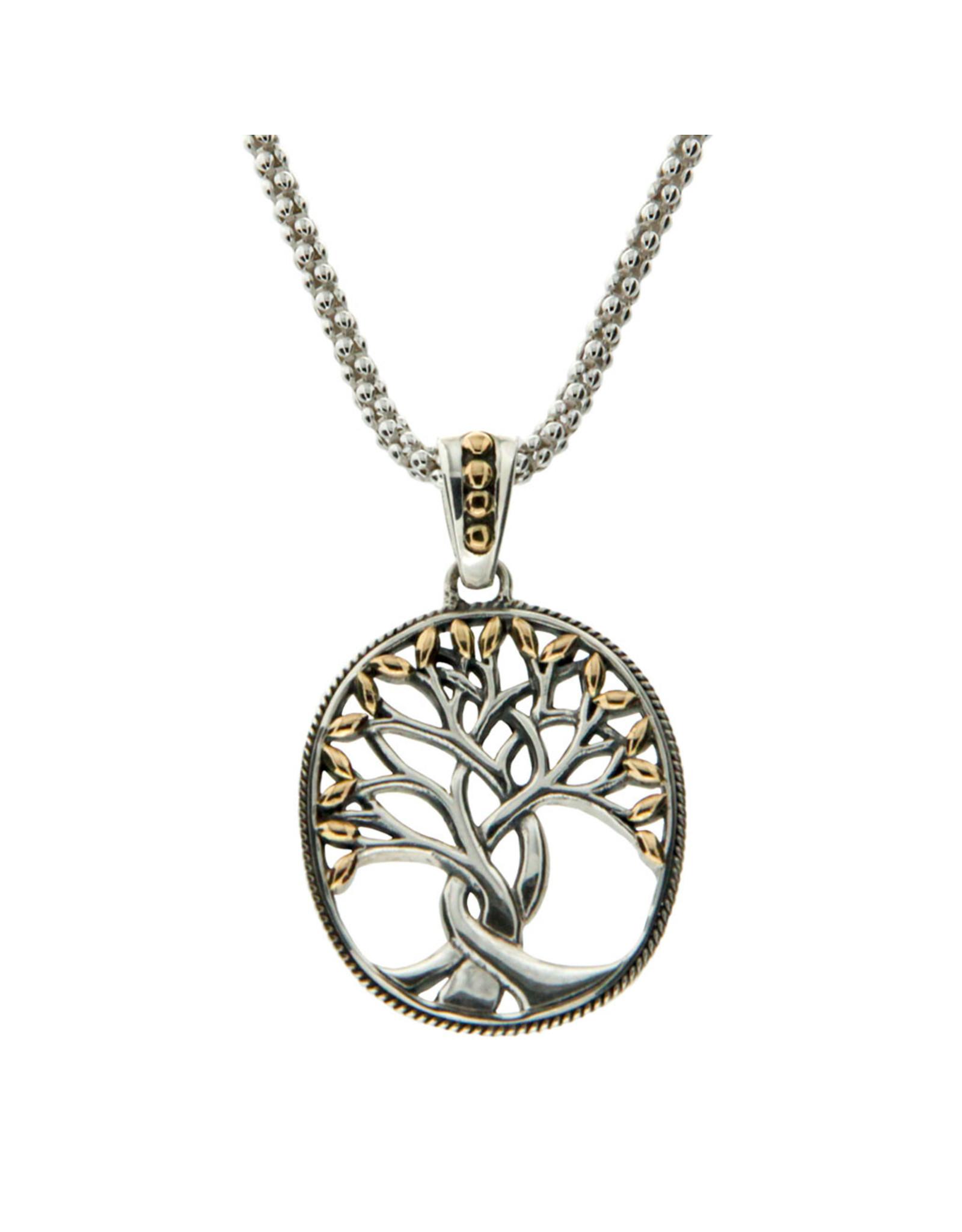 Keith Jack Tree of Life Pendant SS/18KY