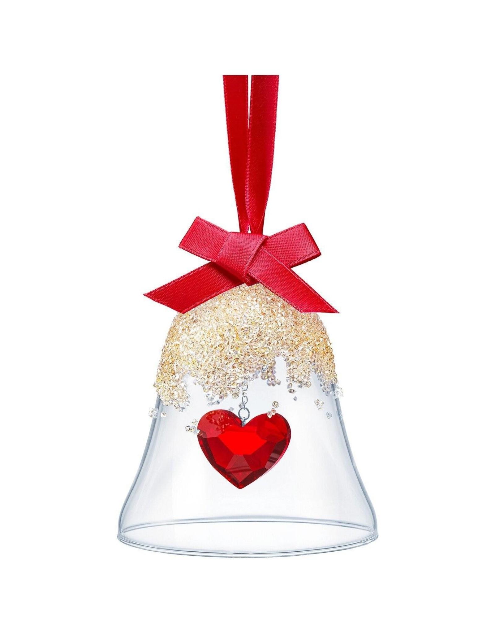 Swarovski Swarovski Christmas Bell Heart Ornament