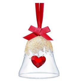 Swarovski Christmas Bell Heart Ornament