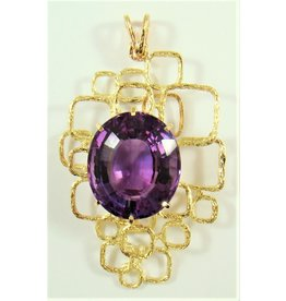 42.85ct Contemporary Amethyst Pendant