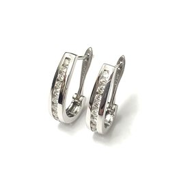 0.75ctw Diamond Hoops