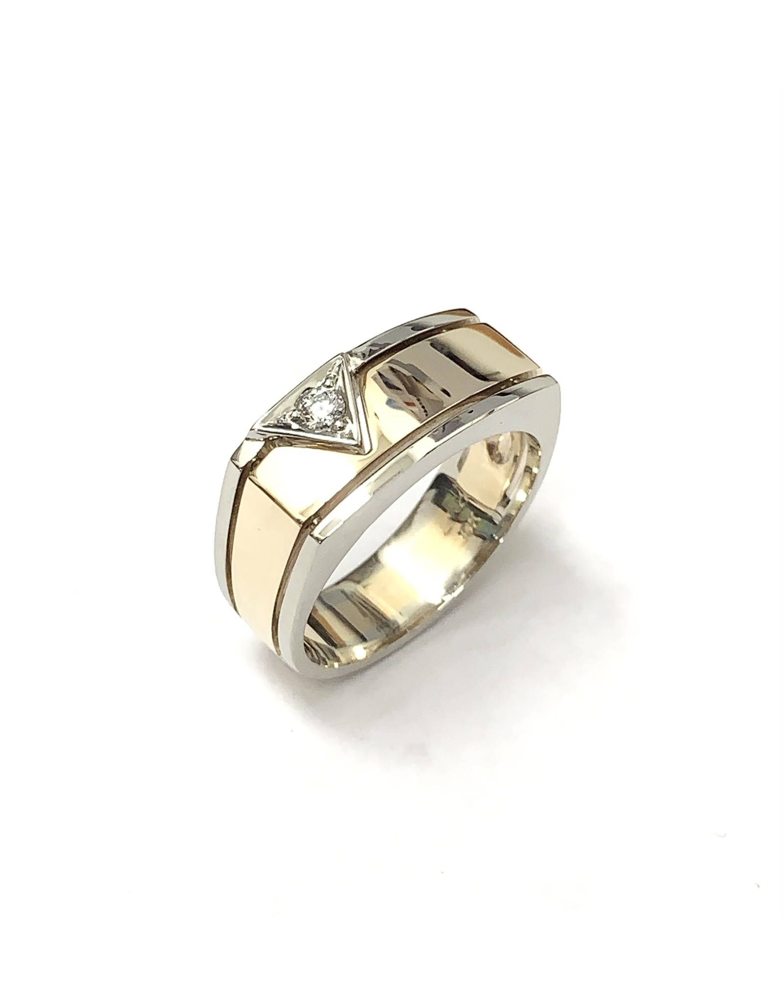 0.095ct Diamond Ring 10KWY Gold