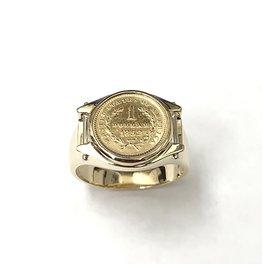 1852 United States 1 Dollar Ring