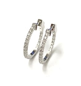 0.40ctw Diamond Hoops