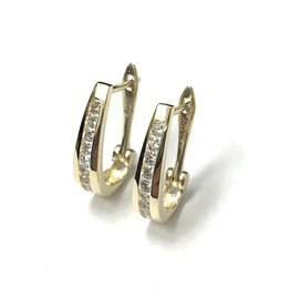 0.50ctw Diamond Hoops