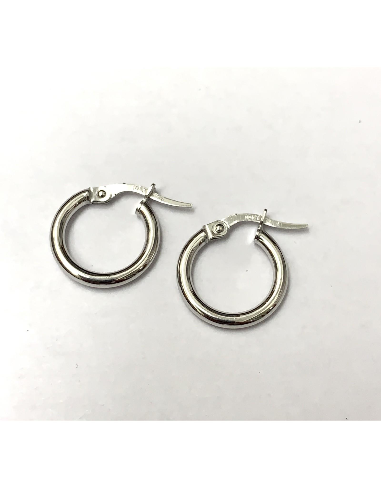 15mm Classic Hoop Earrings 10KW