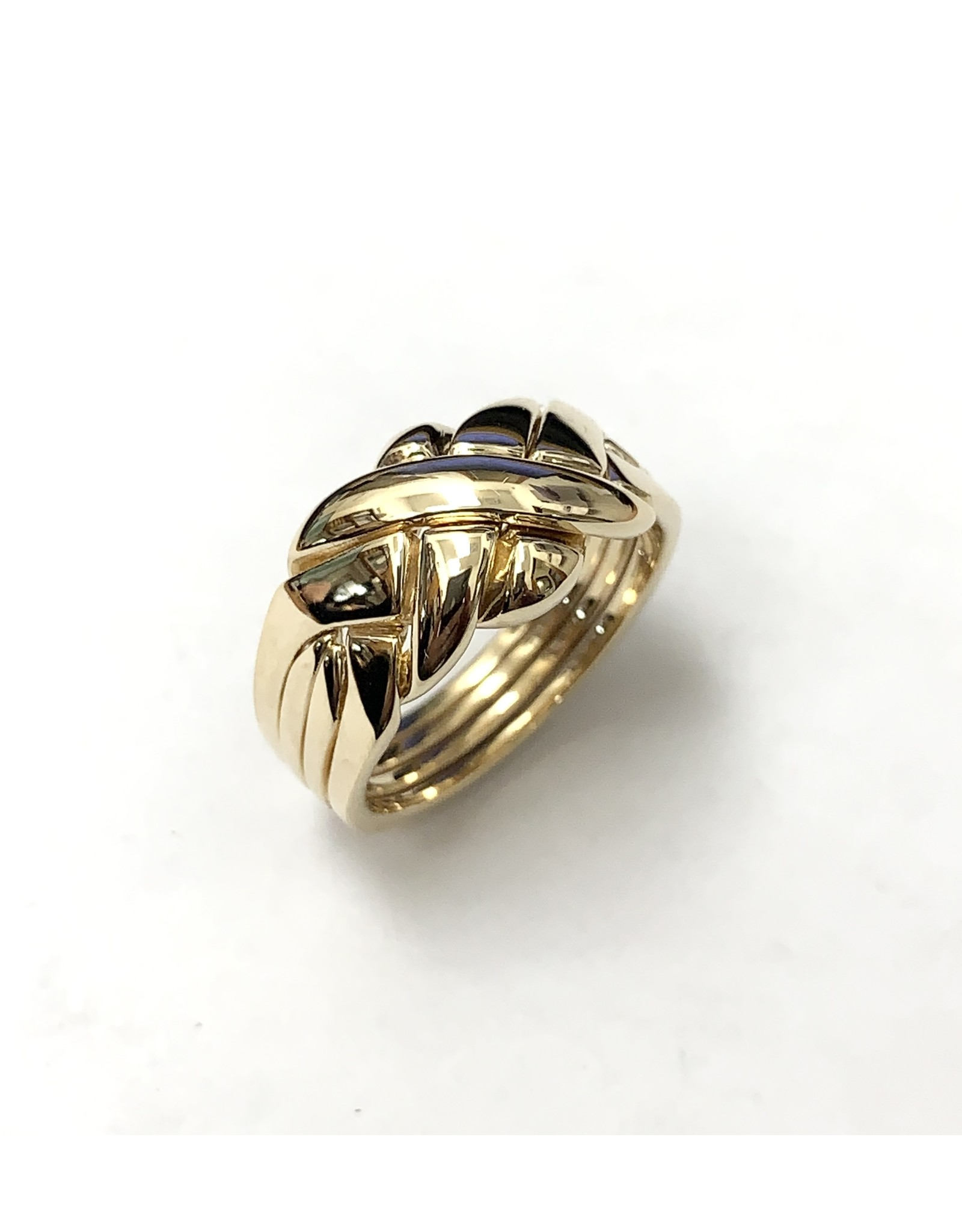 4-Band Puzzle Ring 10KY
