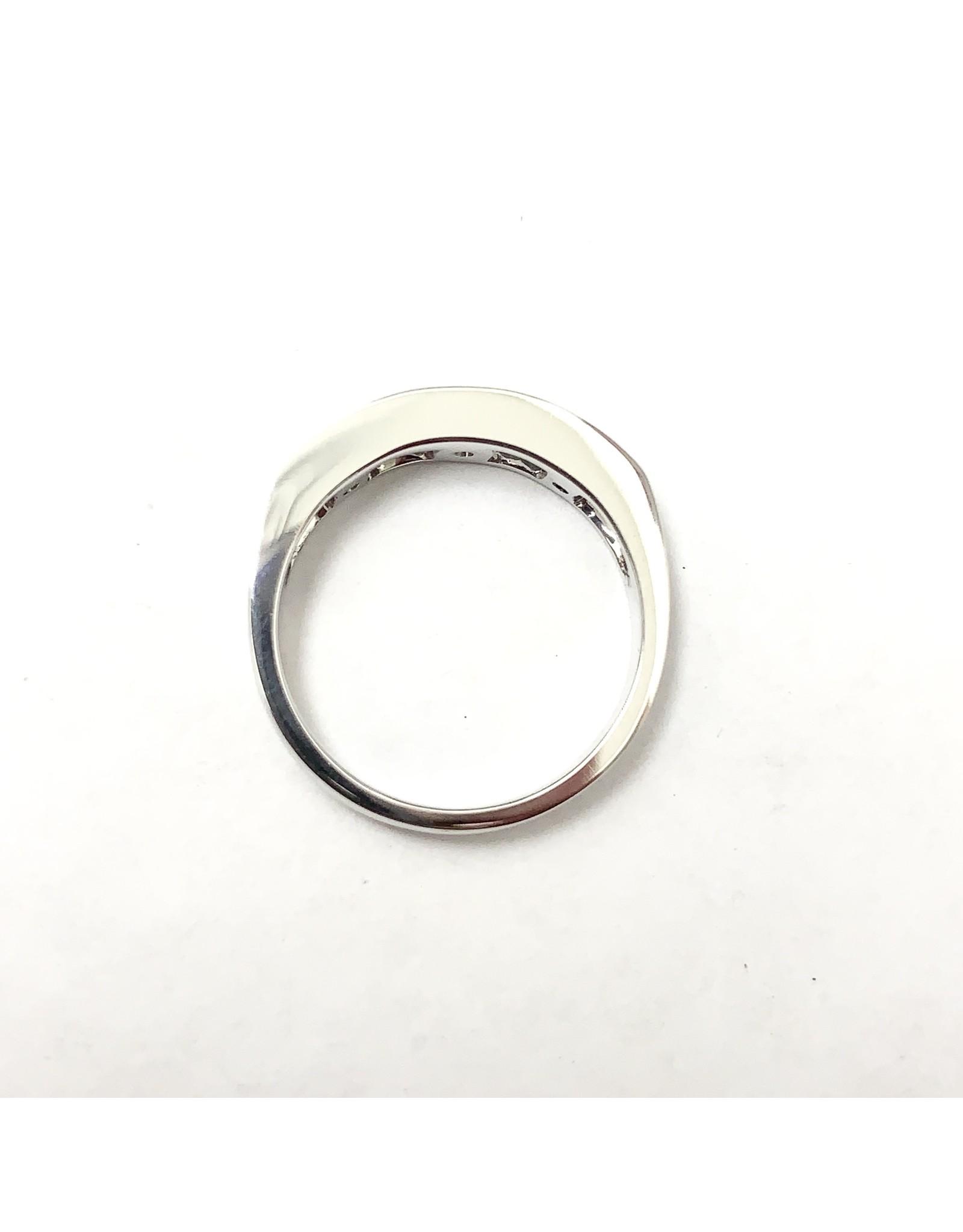 Alexandrite & Diamond Ring 14KW