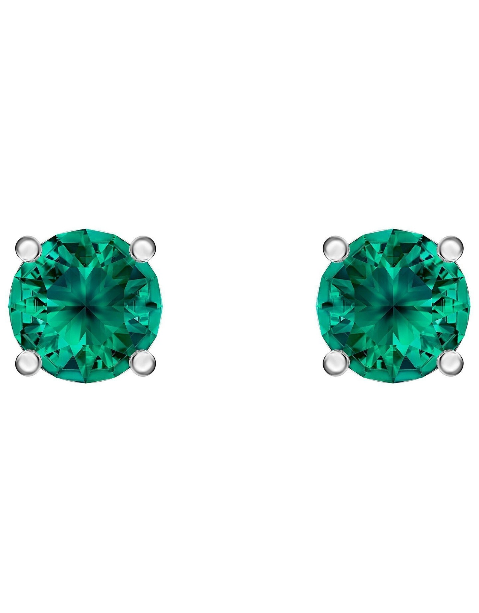 Swarovski Swarovski Attract Studs Earrings (Green)