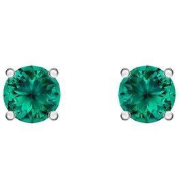 Swarovski Attract Studs Earrings (Green)