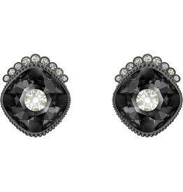 Swarovski Black Baroque Stud Earrings