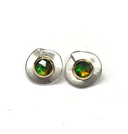 Korite Madison Ammolite Earrings