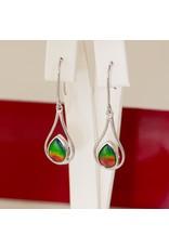 Korite Naomi Ammolite Earrings SS