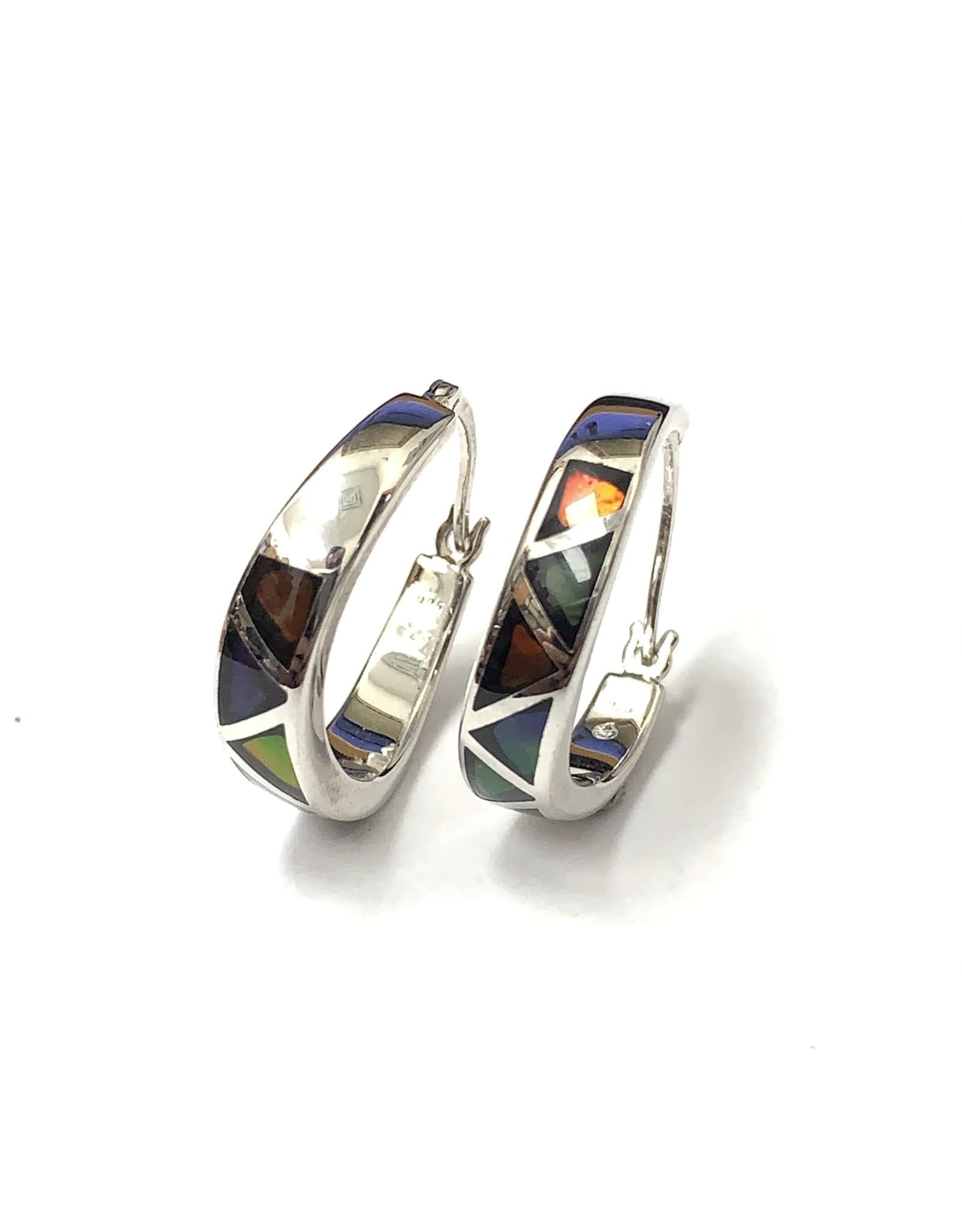 Korite Aurelia Ammolite Earrings SS