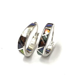 Korite Aurelia Ammolite Earrings
