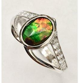 Korite Lorelei Ammolite Ring