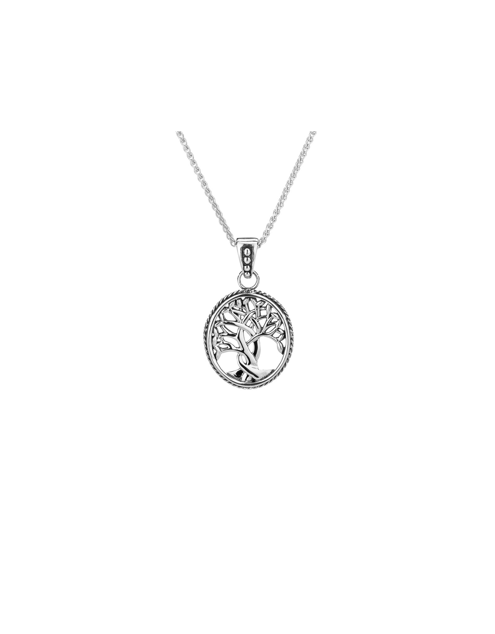 Keith Jack Tree of Life Pendant (Small) SS