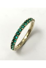 Chi Chi Lab Created Emerald Ring 10KY