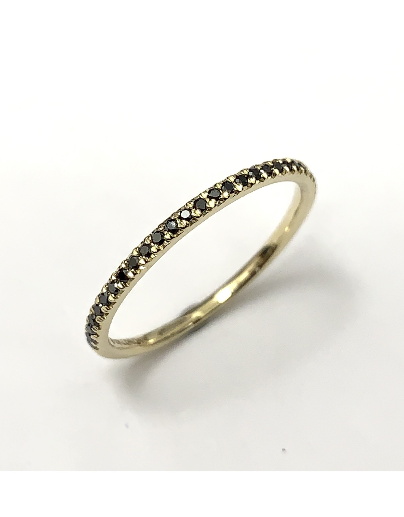 Chi Chi Black Diamond Ring 10KY