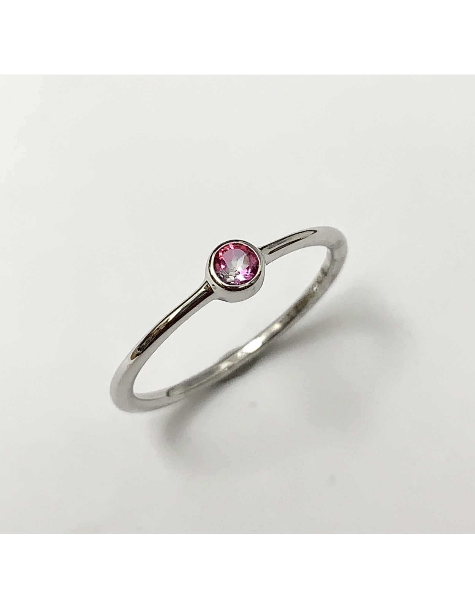Chi Chi Pink Topaz Stackable Ring