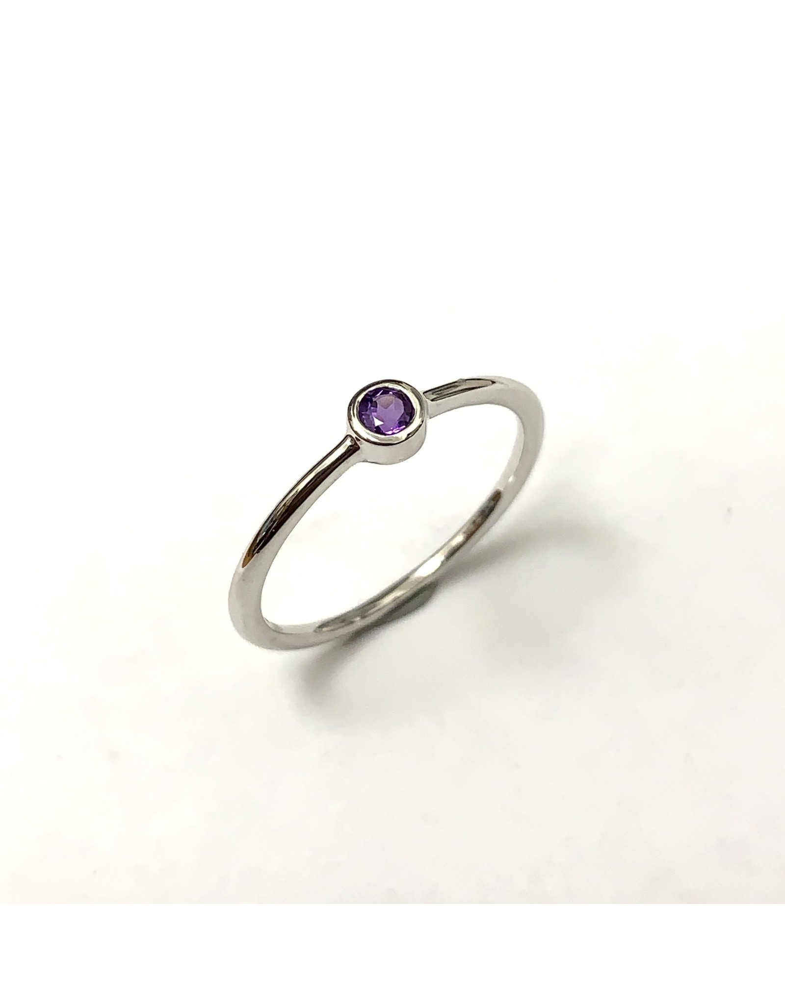 Chi Chi Amethyst Stackable Ring 10KW