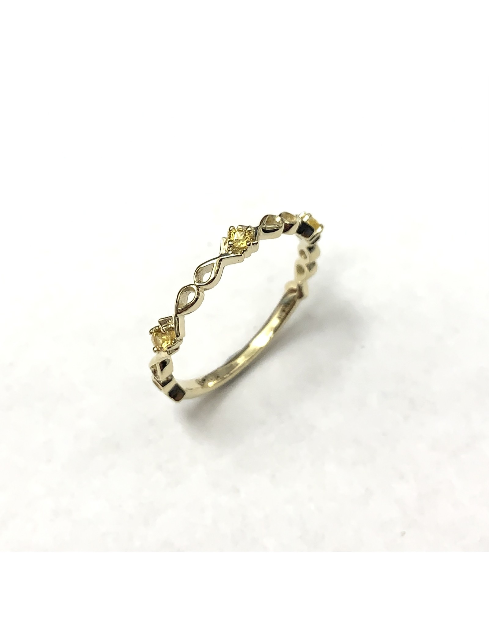Chi Chi Yellow Sapphire Ring 10KY