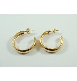 23mm Hoop Earrings