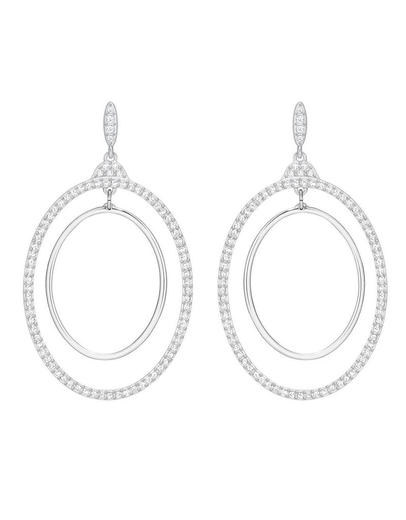 Swarovski Swarovski Gilberte Hoop Earrings