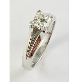 Princess Solitaire (0.73ct Canadian Diamond)
