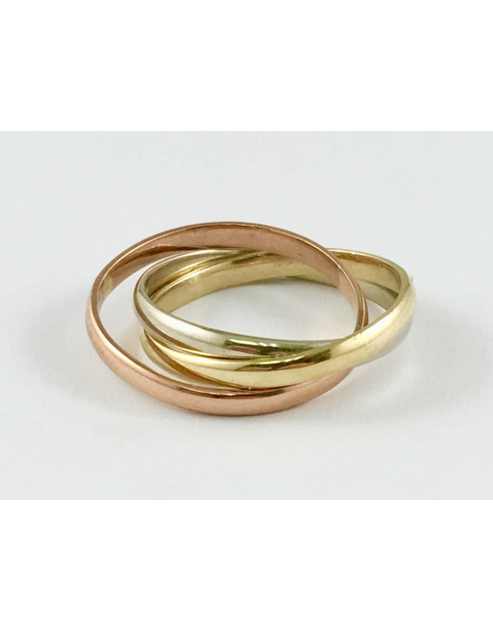 Rolling Triple Ring